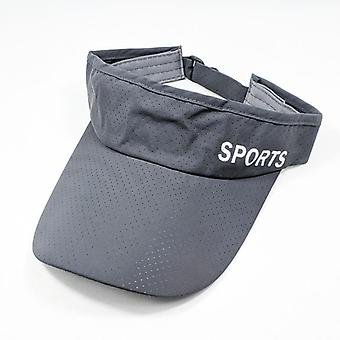 Sun Protected Men Womens Cool Breathable Sport Visor Hat Golf Tennis Visor Cap
