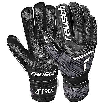 Reusch Attrakt Resist Finger Support Goalkeeper Gloves Size