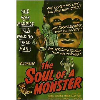 The Soul of a Monster Movie Poster Print (27 x 40)