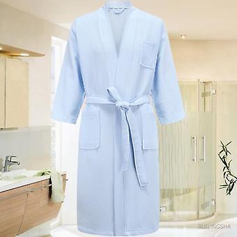 Hommes Kimono Bathrobe Plus Taille