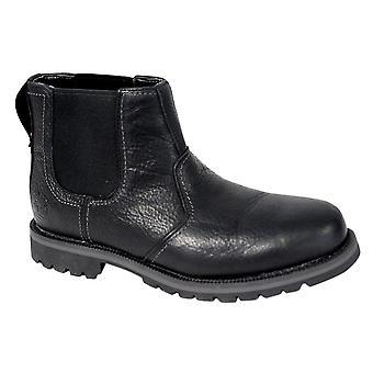 حراس الأرض تيمبرلاند التراث لارشمونت تشيلسي أحذية رجال الأسود A12F4 B107A
