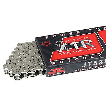 JT 530 X1R 108 Links X-Ring Street Motorcycle Road Racing Chain Chrome
