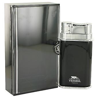Vermeil Black by Vermeil Eau De Toilette Spray 3.4 oz / 100 ml (Men)