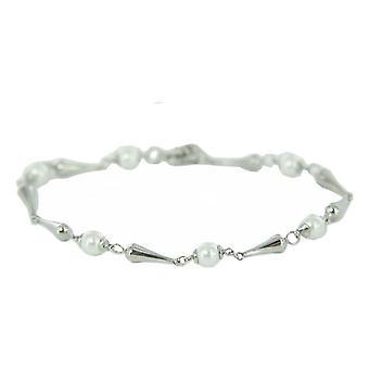 Skagen damer armband silver pärlor JBSS032