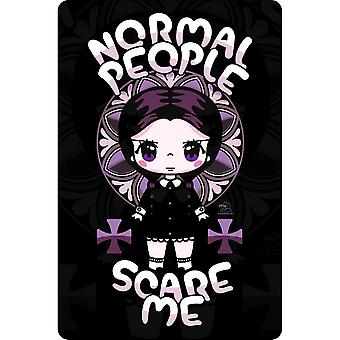 Mio Moon Normal People Scare Me Plaque