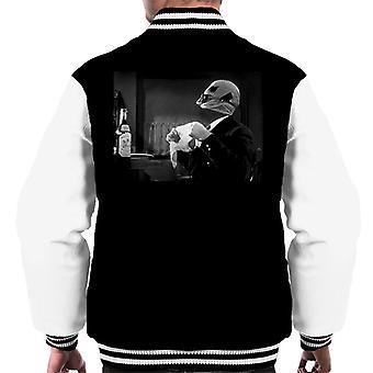 Den osynlige mannen med hjälp av powers men's Varsity Jacket