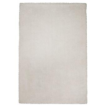 2' x 4'  Polyester Ivory Area Rug