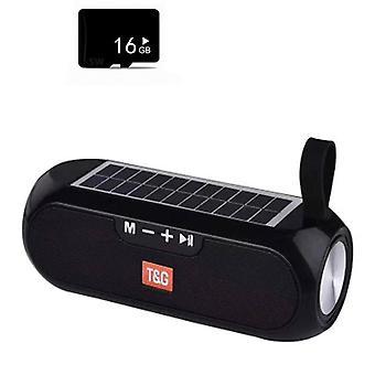 Haut-parleur portable sans fil de basse de Bluetooth, boîte à musique stéréo usb imperméable à l'eau aux