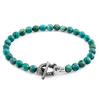ANCHOR & CREW Mantaro Silver and Stone Bracelet