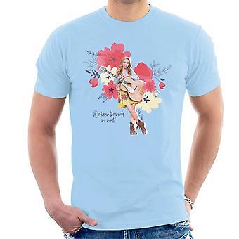 Holly Hobbie Vi kender verden, vi ønsker mænd's T-shirt