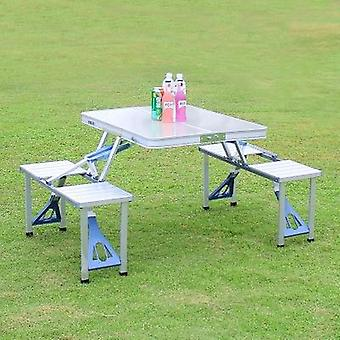 Outdoor Folding Table Chair Camping Aluminium Alloy Picnic Wodoodporny