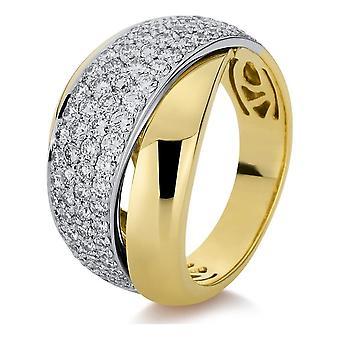 Luna Creation Promessa Ring Pavé 1B976GW855-1 - Ringbreedte: 55