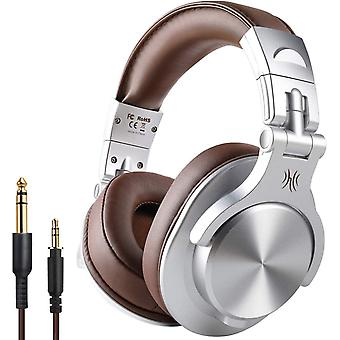 A70 Over Ear Bluetooth Headphones, Foldable Wireless and Wired Headset