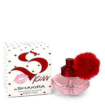 Shakira S Kiss Eau De Toilette Spray By Shakira 1.7 oz Eau De Toilette Spray