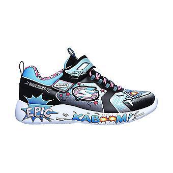 Skechers Dynamight Hero Status 302204LBKTQ universal all year kids shoes