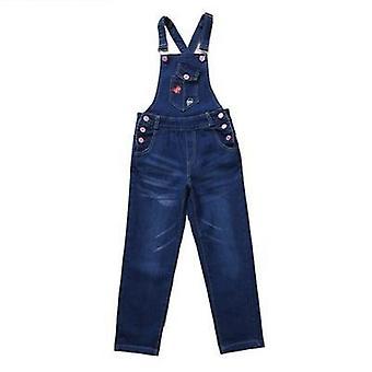 Frühling Denim Overalls Hose, Mode Kinder lose Fit Lätzchen Hose Jeans