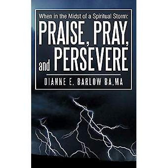 When in the Midst of a Spiritual Storm - Praise - Pray - and Persevere