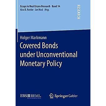 Holger Markmannin epätavanomaisen rahapolitiikan piiriin kuuluvat katettuihin joukkolainoihin