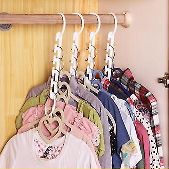 3d Space Saving Magic Clothes Hanger With Hook - Closet Organizer Home Tool