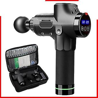 High Frequency Massage Gun, Body Relaxation Electric Massager With Portable Bag
