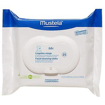 Mustela Face Wipes 25 units