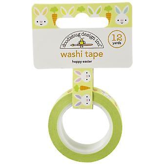 Doodlebug Design Hoppy Pääsiäinen Washi-nauha