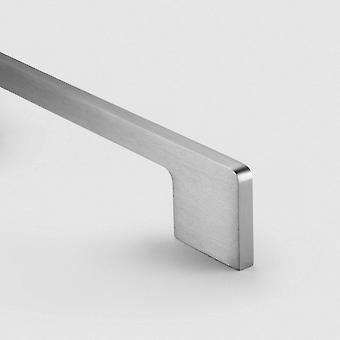 Brass Bar Handle - Silver - Hole Centre 325mm