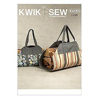 Kwik Sew Sewing Pattern 4150 Log Carrier One-Size