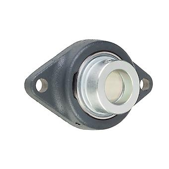 INA RCJTZ25XL Two Bolt Oval Flanged Unit 25mm Bore