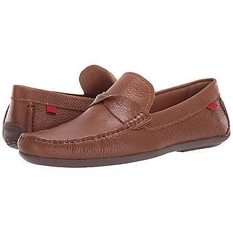 MARC JOSEPH NEW YORK Mens Leather Made in Brazil Plymouth Twisted Driver Driving Style Loafer