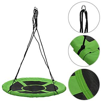 vidaXL swing 110 cm 100 kg grön