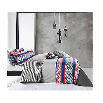 Amsons Cotton Reversible Quilt Cover Set Monacco