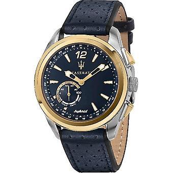 Maserati Мужские часы Traguardo 45 мм Гибридный синий R8851112002