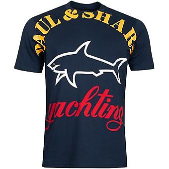 Paul And Shark Oversized Logo T-Shirt