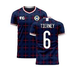 Escocia 2020-2021 Home Concept Shirt (Cultura de los Fans) (TIERNEY 6)