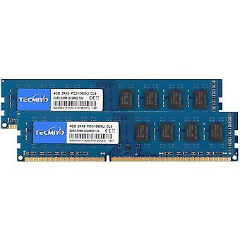 FengChun 8GB Kit (2 x 4GB) PC3-10600U DDR3 1333MHZ DIMM DDR3-1333 UDIMM 2RX8 Dual Rank CL9 1,5V 240