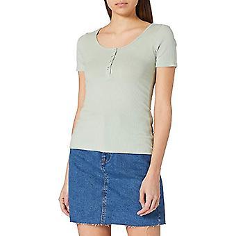 PIECES PCKITTE SS Top Noos BC T-Shirt, Desert Sage, S Woman