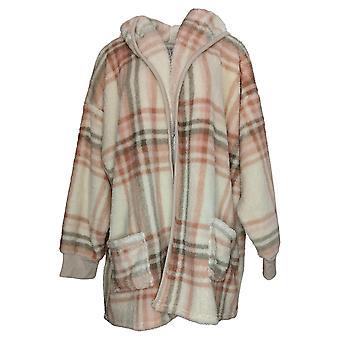 Koolaburra by UGG Women's Sweater Plus Plush Cardigan Ivory A386142