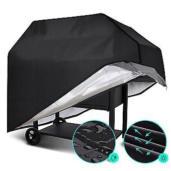 210D BBQ Cover Outdoor Dust Waterproof Weber Heavy Duty Grill Rain Covers(80*66*100cm)