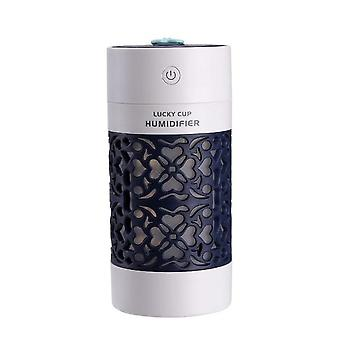 Lucky Cup Humidifier USB Ultrasonic Aroma Diffuser 3 In 1 With LED Light USB Fan Humidifiers