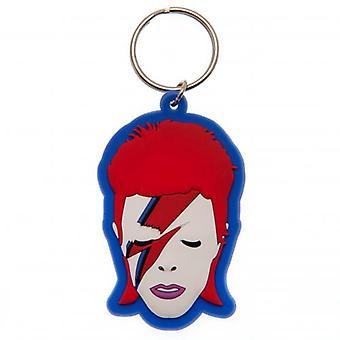 David Bowie PVC-nyckelring