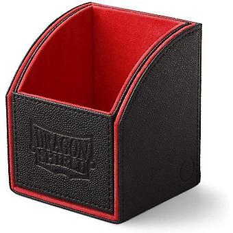 Nichoir dragon Shield: agrafe noire / rouge