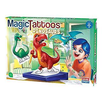 Set Magic Tatoos Falomir Dinosaurs (ES)