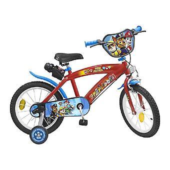 Lasten pyörä Toimsa Paw Patrol 16'' Punainen Sininen