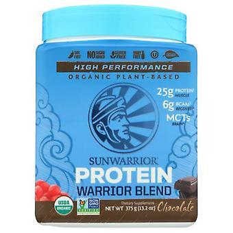 Sunwarrior Warrior Blend Plant Based Protein, Chocolate 375 Grams
