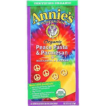 Annie's Homegrown Pasta Peace & Parms, Case of 1 X 6 Oz