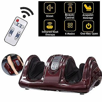 Electric Heating Foot Massager Shiatsu Kneading Roller Vibrator Relief Relax|Foot Care Tool
