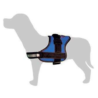 Arquivet Blauw en zwart gewatteerde Sling (Honden , Halsbanden en Riemen , Tuigjes)