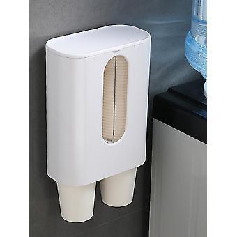 Porta-copos do dispensador de água doméstico copos descartáveis à prova de poeira copos automáticos copos