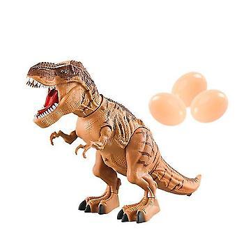 Walking Dinosaur Toy Simulazione Dinosaur Spray Proiezione Regalo di Natale Remoto| Rc Animali